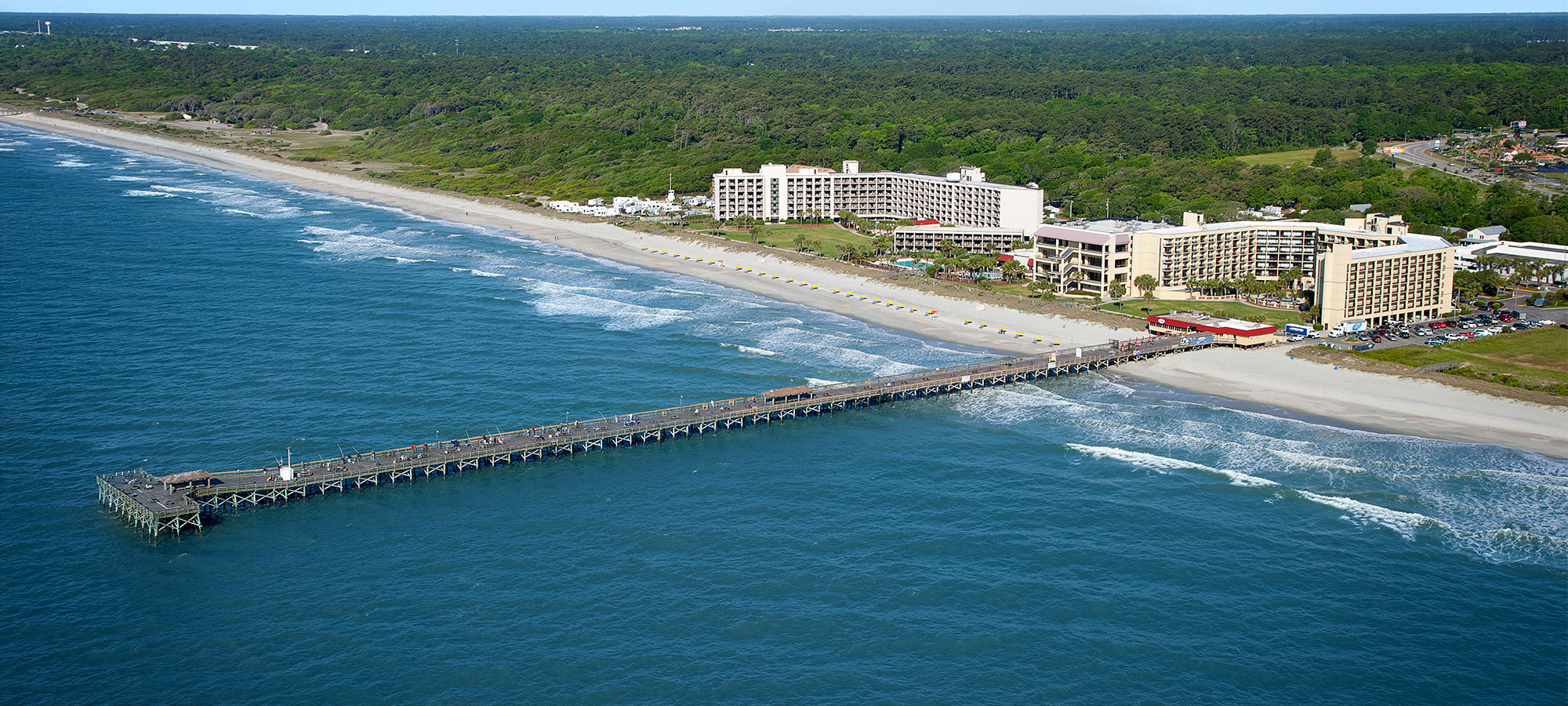 Springmaid beach resort and pier pond robinson associates for Fishing piers in myrtle beach